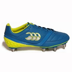 Canterbury Phoenix Club Rugby Boots - Atomic Blue/Yellow